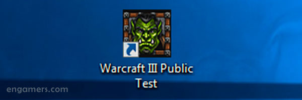Warcraft 3 Public Test launcher